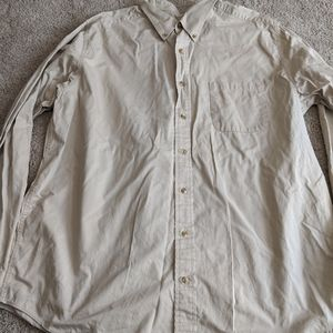 Men's Eddie Bauer L/S Button Down Collar Shirt XLT
